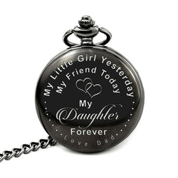 Deffrun Mother Day Gift Pocket Watch Dress Quartz Watch