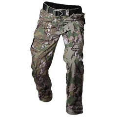 Archon Tactical Pants Men's Outdoors Waterproof Camouflage Multi Pocket Military Casual Pant - EY Shopping