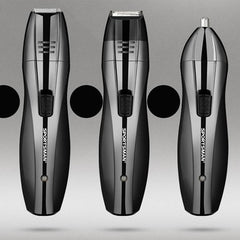 3in1 Rechargeable Cordless Electric Hair Clipper Shaver Razor Beard Hair Nose Trimmer Wet/Dry