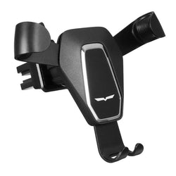 Universal Gravity Linkage Auto Lock Multi-angle Rotation Car Air Vent Holder Stand for Mobile Phone