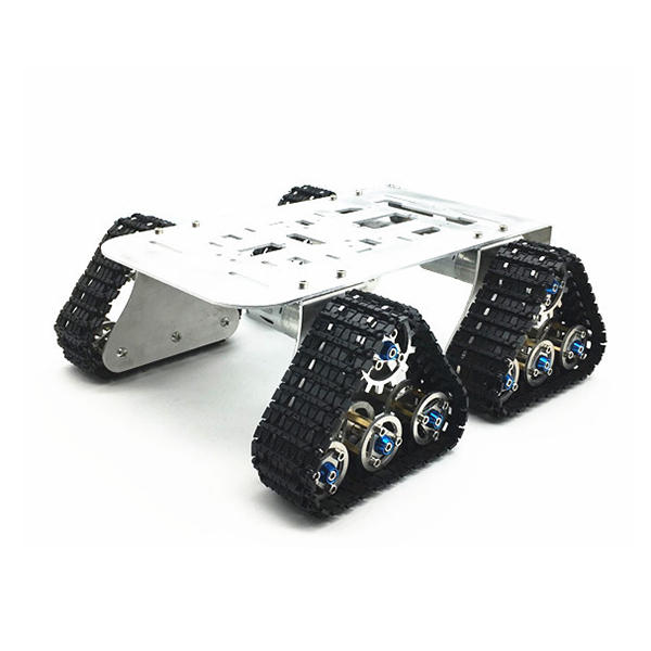 4WD DIY Smart Robot Tank Car Chassis With Crawler Kit for