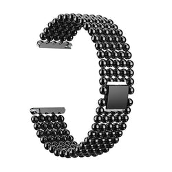 22mm Five Beads Alloy Wristbands Fashion Watch Band Replacement For Fitbit Versa