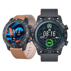 [HRV Health Index] Zeblaze NEO 2 Multi-watch Faces Full-touch Screen 24h Heart Rate Blood Pressure Monitor Italian Vacchetta Strap bluetooth V5.0 Smart Watch
