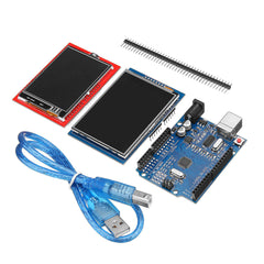 Geekcreit UNO R3 Improved Version + 2.8TFT LCD Touch Screen + 2.4TFT Touch Screen Display Module Kit Geekcreit for Arduino - products that work with official Arduino boards