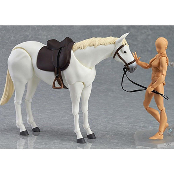 Figma Action Figure Horse Model Toy Simulated Animal 11cm Gift Collection Decor