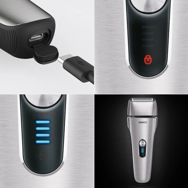 Xiaomi Mijia SMATE Reciprocating Electric Razor 3 Minute Fast Charge Shaver Dry And Wet Available