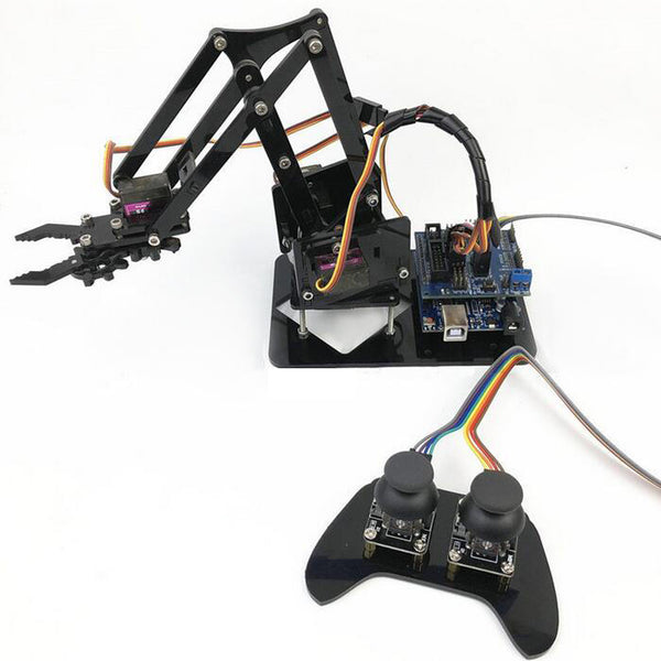 4DOF Robot Arm with Remote Control PS2 Self-Assemble with MG90s Servo for  UN R3 Programming