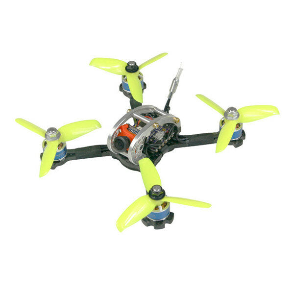 KINGKONG/LDARC FPV EGG PRO 138mm RC FPV Racing Drone PNP W/ F4 4in1 20A 25mW/100mW 16CH CCD600 CAM