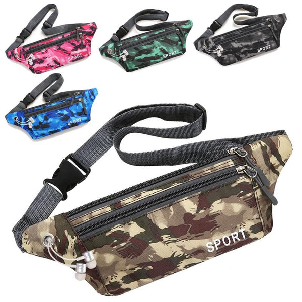 Sports Waist Bag Crossbody Bag Phone Bag For Outdoor Sports Hiking Jogging Climbing Running