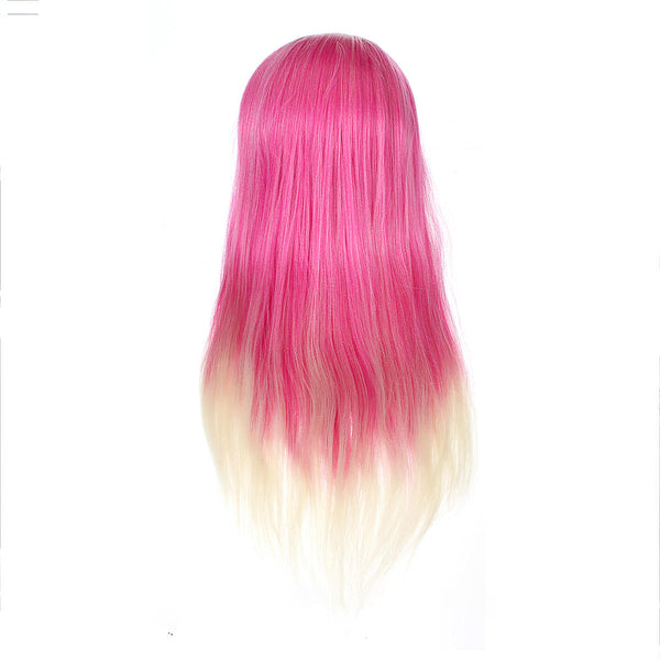 27'' Colorful Mannequin Head Hair Hairdressing Practice Training Salon + Clamp