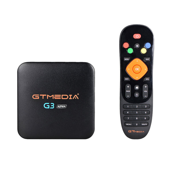 GTMEDIA G3 Alpha Amlogic S905X 2/16GB 5G WiFi BT4.0 Android 7.1.2 4K@60fps H.265 TV Box Support Xtream IPTV