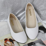 US Size 5-11 Women Flats Casual Soft Comfortable Pointed Toe Slip On Ladies Loafers Flats Shoes - EY Shopping