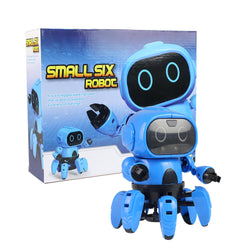 MoFun DIY Stem 6-Legged Gesture Sensing Infrared Avoid Obstacle Walking Robot Toy