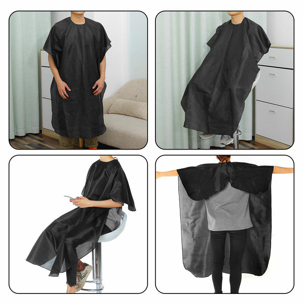 Adult Salon Hair Hairdressing Cutting Cape Barbers Gown Cloth Cover