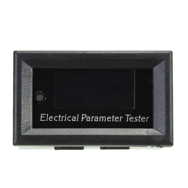 0-33V 0-3A Multifunction OLED DC Voltage Current Time Power Watt Tester Digital Meter