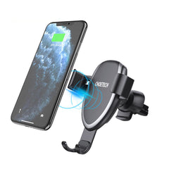 CHOETECH Qi Wireless Car Charger Phone Holder 10W Fast Charging For iPhone XS Max 8 Plus Xiaomi Mi10 Redmi Note 9S
