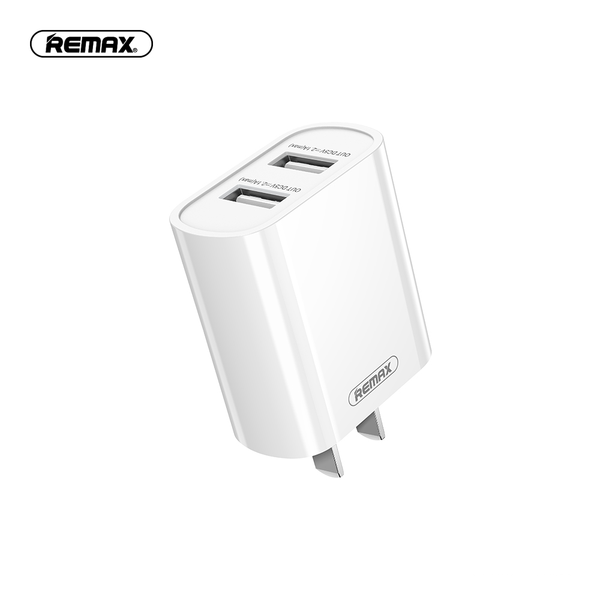 Remax RP-U35 Dual USB Charger Adapter Fast Charging For iPhone XS 12 11Pro Xiaomi Mi10 S20+