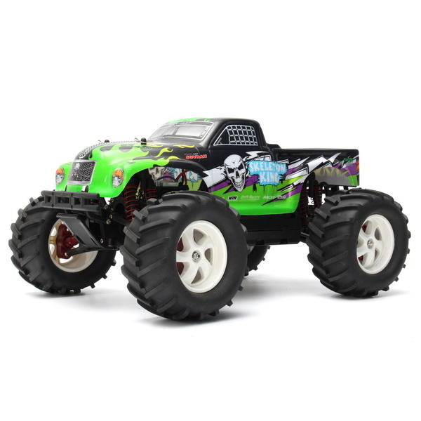 Pineal Model 1/8 2.4G Skelton King SG-801 Brushed Off-Road Truck Surpass Speed RC Car