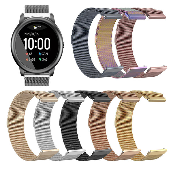 Bakeey 22mm Universal Watch Band Magnetic Watch Strap for Haylou Solar/ Huawei Watch GT/ Xiaomi Watch Color/ BW-HL3 BW-AT1/ Amazfit GTR 47MM