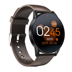 [Free Gift] Bakeey QS09 1.3inch Full Touch Screen Heart Rate Blood Pressure O2 Monitor Music Control Smart Watch