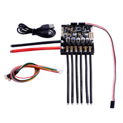 Flipsky Dual FSESC6.6 Based upon VESC6 with Aluminum Heatsink Mini Size For RC Car Parts