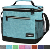 This premium medium capacity insulated lunch bag OPUX Premium Lunch Box, Insulated Lunch Bag for Men Women Adult | Durable School Lunch Pail for Boys, Girls, Kids | Soft Leakproof Medium Lunch Cooler Tote for Work Office | Fits 8 Cans (Charcoal) USA Impor - EY Shopping