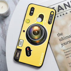 Camera Holder Cover For Xiaomi Redmi Note 8 5 6 7 Pro 8T Plus 7A 8A K20 K30 Mi A1 A2 A3 8 9 Lite SE 9T Play F1 CC9 CC9e TPU Case