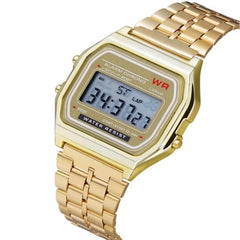 New High Quality, Waterproof LED Digital Business Watches Gold Sport Wristwatch  Fashion Women Female Men Quartz Watch Thanks giving Christmas Gift USA Imported Product