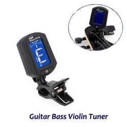 ENO ET-33 Digital Electronics Mini Clip On Guitar Bass Violin Tuner