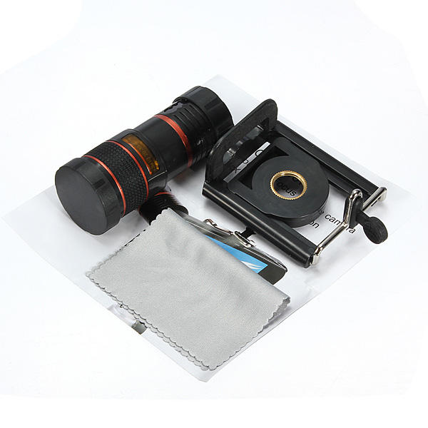 Universal 8X Long Focal Lens Telescope
