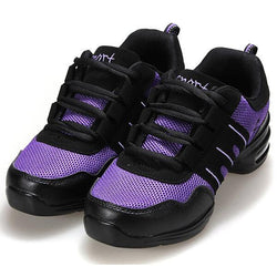 Modern Jazz Hip-hop Dance Shoes Casual Breathable Sneakers - EY Shopping