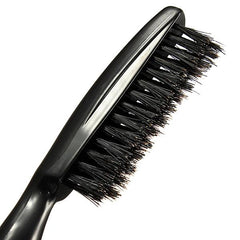 Professional Salon Black Hairdressing Teasing Tangle Hairbrush Comb