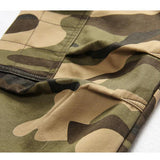 Winter Thick Fashion Cotton Warm Mens Cargo Pants Outdoor Casual Camouflage Pocket Overalls - EY Shopping