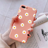 New High Quality, TPU Chrysanthemum Matte Cover For Huawei P30 Mate P20 Lite 10 Lite Pro 20 Lite Pro 30 Lite Pro P Smart 2019 Honor 9X 8X 9 10 20 Lite 10i 20i Case USA Imported Product