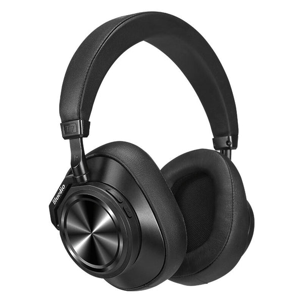 Bluedio T7 ANC Wireless bluetooth 5.0 Headphone HiFi Active Noise Cancelling Long Battery Life Stereo Headset with 4 Mic