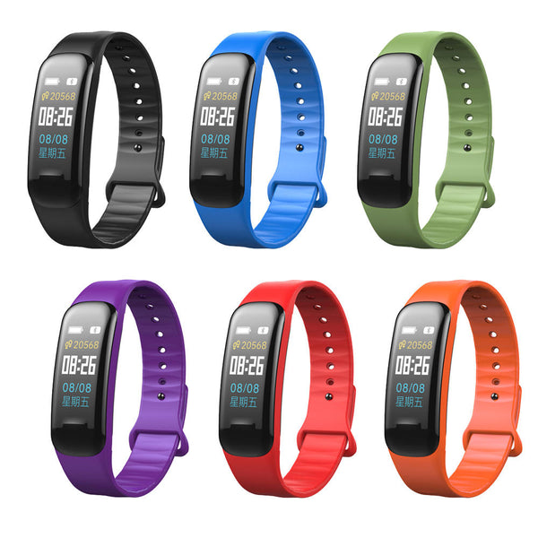 XANES X1 0.96'' TFT Color Screen IP67 Waterproof Smart Watch Heart Rate Monitor Smart Bracelet