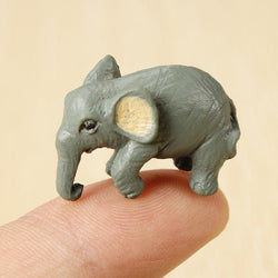 Tiny Q 2.8CM Elephant Mini Ornament Furnishing Articles