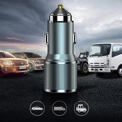Suntaiho Mini USB Car Charger 36W QC3.0 Dual USB Port Fast Charging For iPhone XS 11 Pro SE 2020 Xiaomi Mi10 Redmi Note 9S
