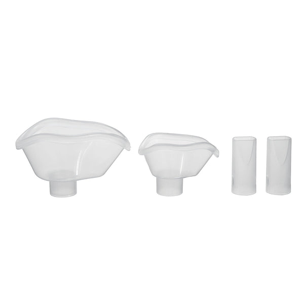 4pcs Replacement Adult Child Mask Mouthpiece For Ultrasonic Nebulizer Atomizing Sprayer