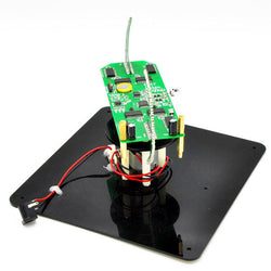 Geekcreit DIY Biaxial Spherical Rotating DIY LED Flash Kit Creative POV Soldering Training Kit