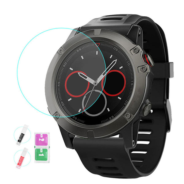 Explosion-proof Soft Film Anti-fingerprint Screen Protector for Garmin Fenix 5X/Fenix 3