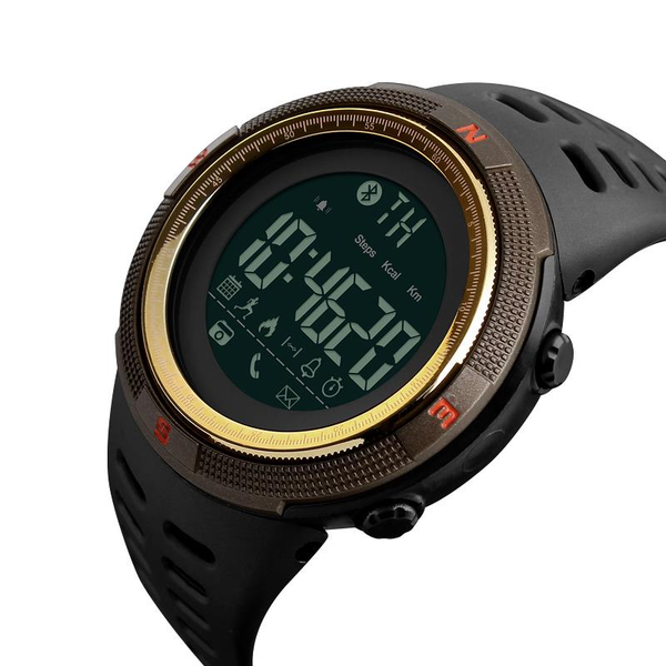 SKMEI 1250 bluetooth Smart Watch Call Message Notification Pedometer 50M Waterproof Sports Watch