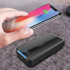 Bakeey 15W 10W Wireless Car Charger LED Indicator Power Bank Fast Charging For iPhone 12 XS 11Pro Huawei P30 P40 Pro Xiaomi MI 10 OnePlus 8Pro