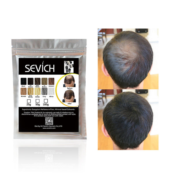 Sevich 50g Hair Building Fibers Hair Loss Concealer Product Hair Extention Keratin Fiber Powder Hair Care Growth