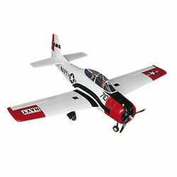 Dynam T-28 Trojan V2 Yellow / Red 1270mm Wingspan EPO Trainer Warbird RC Airplane PNP