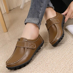 US Size 5-12 Women Flats Shoes Slip On Round Toe Outdoor Soft Loafers - EY Shopping