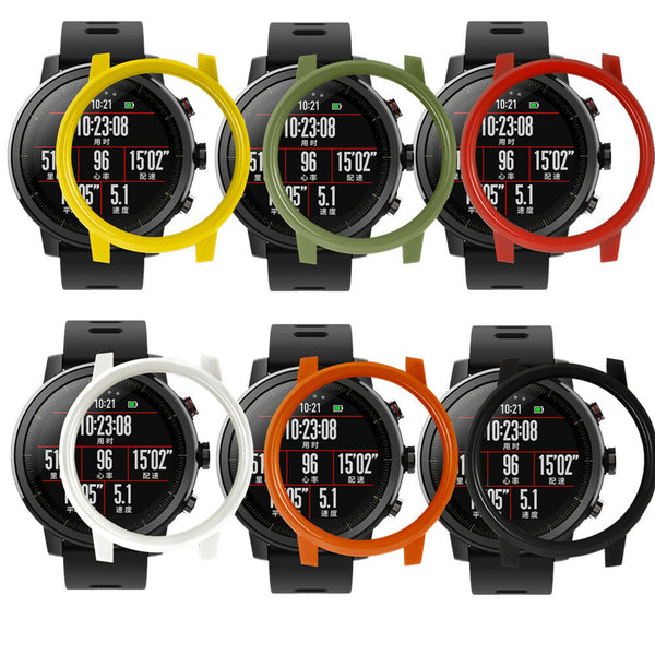 Colorful Sport Style Protective Watch Case Cover Watch Cover for AMAZFIT 2 2s Stratos