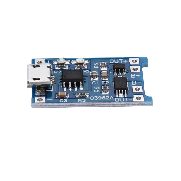 10Pcs TP4056 Micro USB 5V 1A Lithium Battery Charging Protection Board TE585 Lipo Charger Module