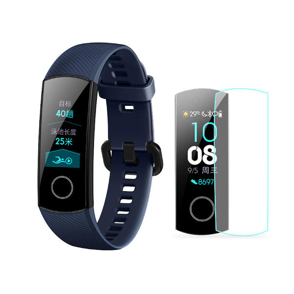 Mijobs 2pcs Soft TPU HD Ultra Clear Watch Screen Protector for Huawei Honor Band 4