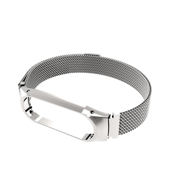 Bakeey Anti-lost Watch Band Milanese Magnetic Stainless Steel Watch Strap for Xiaomi Mi band3